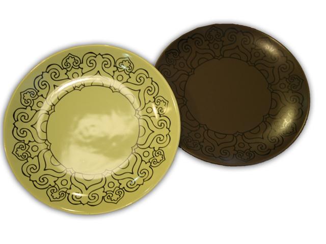 Нанесение на тарелки