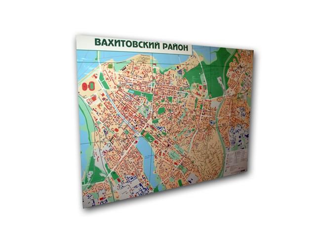 Карта Вахитовского района г.Казани
