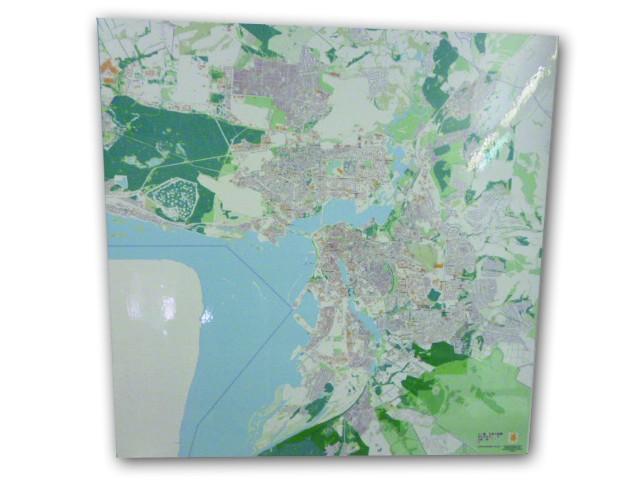 Карта г. Казани