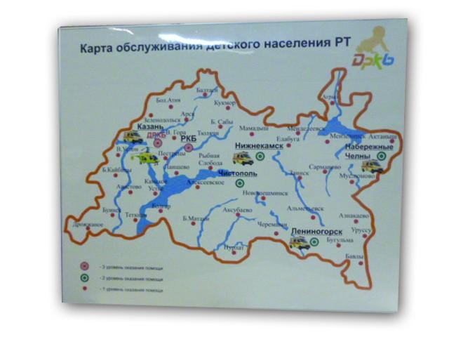 Карта обслуживания детского населения