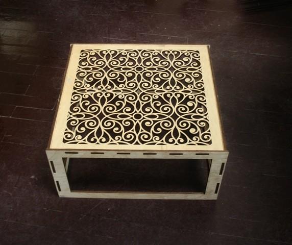 Лазерная резка столика