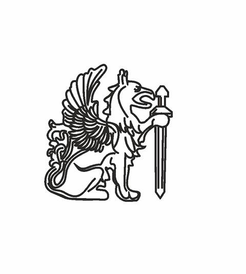 Обрисовка логотипа