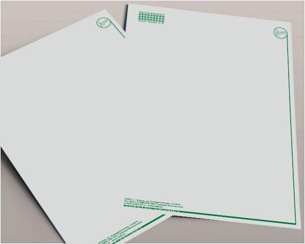 Дизайн лавсановых папок